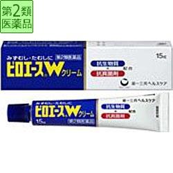 第一三共 第2類医薬品 ピロエースWクリーム(15g)