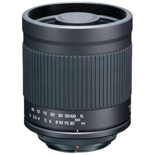 カメラレンズ ミラーレンズ 400mm F8 キヤノンEOS ブラック [単焦点レンズ]