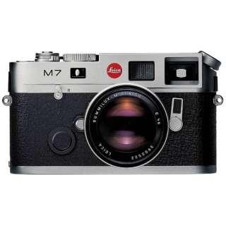 LEICA M7 Engrave 0.72 レンジファインダーカメラ シルバークローム [ボディ単体]