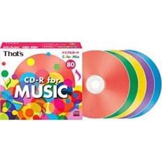 CDRA80C5Y10ST 音楽用CD-R That's [10枚]