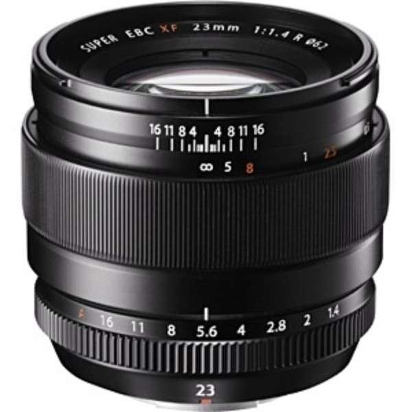 カメラレンズ XF23mmF1.4 R FUJINON(フジノン) ブラック [FUJIFILM X /単焦点レンズ]