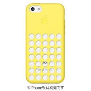 【純正】 iPhone 5c用 シリコンケース (イエロー)