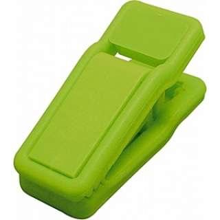ダッチハンガー クリップ 同色4個セット ネオングリーン