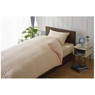 【ボックスシーツ】綿マイヤー セミダブルサイズ(綿100%/120×200×30cm/ピンク)【日本製】