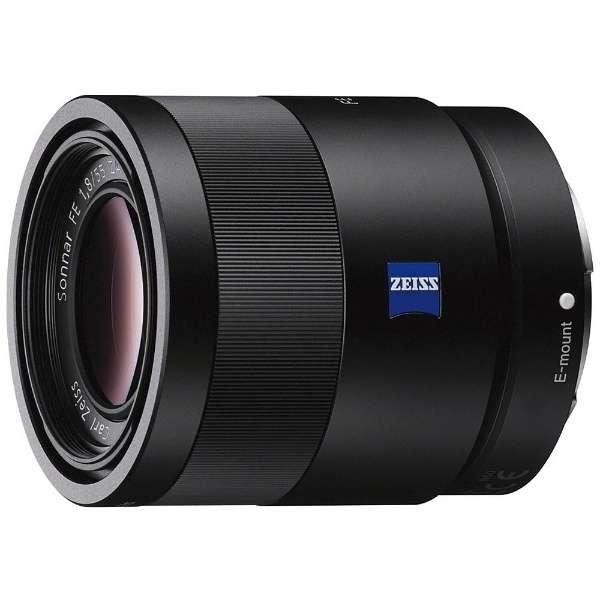 カメラレンズ T* FE 55mm F1.8 ZA Sonnar ブラック SEL55F18Z [ソニーE /単焦点レンズ]