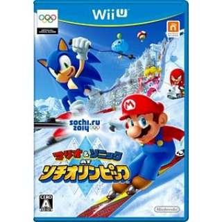 マリオ&ソニック AT ソチオリンピック【Wii Uゲームソフト】