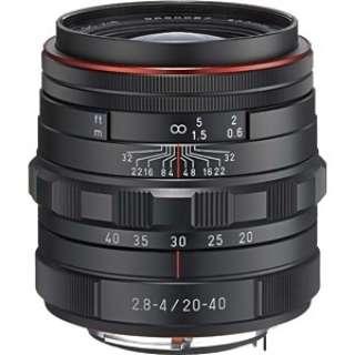 カメラレンズ HD PENTAX-DA 20-40mmF2.8-4ED Limited DC WR APS-C用 ブラック [ペンタックスK /ズームレンズ]