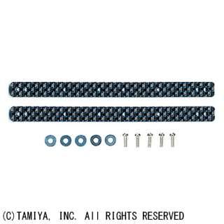 【ミニ四駆】ミニ四駆限定 HG 13・19mm ローラー用 カーボンマルチ補強プレート(2mm青ラメ) 95007