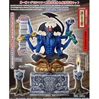 デビルマン神像シリーズ・悪魔十八転生 第一弾 デビルマン・鬼獣外法界&魔界祭壇セット