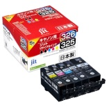 JIT-C3265P キヤノン Canon:BCI-326+325/5MP 5色マルチパック対応 ジット リサイクルインク カートリッジ JIT-KC3265P 5色パック