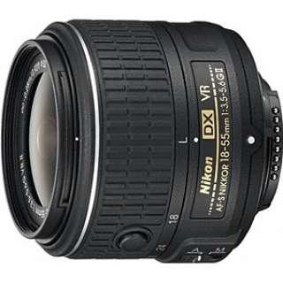 カメラレンズ AF-S DX NIKKOR 18-55mm f/3.5-5.6G VR II APS-C用 NIKKOR(ニッコール) ブラック [ニコンF /ズームレンズ]