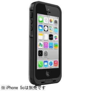 iPhone 5c用 fre case (ブラック) [LIFEPROOF]