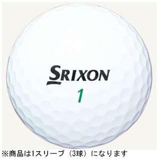 【スリーブ単位販売になります】ゴルフボール SRIXON TRI-STAR《1スリーブ(3球)/ホワイト》 【オウンネーム非対応】