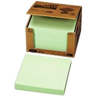ポイントメモ[再生紙シリーズ]ビジネスパック(100枚×5冊入/グリーン) MB-2G