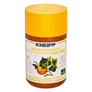 KNEIPP(クナイプ) バスソルト オレンジ・リンデンバウムの香り 850g〔入浴剤〕