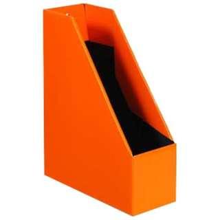[収納用品] マガジンボックス  オレンジ(サイズ:A4) SLD2-52-05