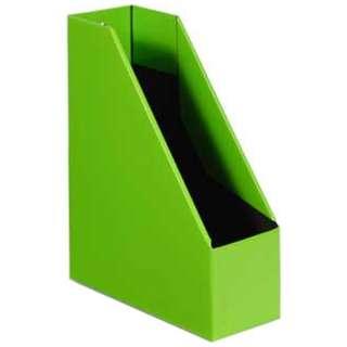 [収納用品] マガジンボックス  ライトグリーン(サイズ:A4)  SLD2-52-07