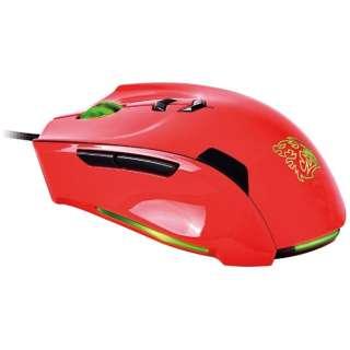 MO-TRN006DTL ゲーミングマウス Tt eSPORTS Theron レッド [レーザー /8ボタン /USB /有線 /レーザー式]