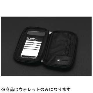 スマートフォン用アクセサリー ROADWALLET ZIP(BLACK/Mサイズ) BM_RWZ_MBK1