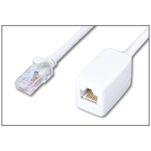 延長LANケーブル[2m /カテゴリー6 ] HLC-ETM6-2MP ホワイト