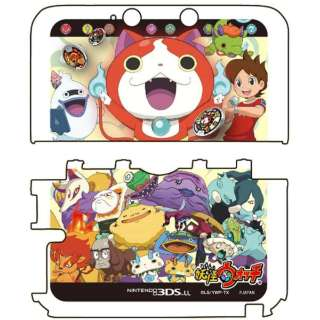 妖怪ウォッチ NINTENDO 3DS LL専用 カスタムハードカバー 妖怪大集合 Ver.【3DS LL】