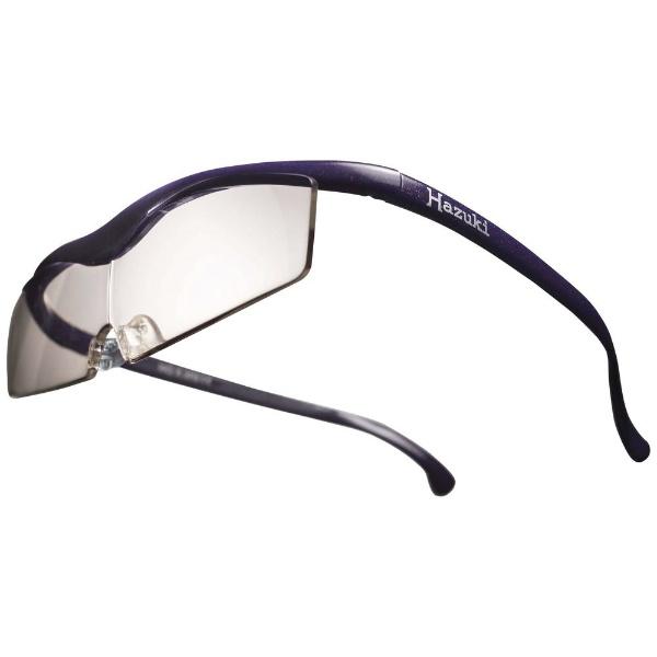 Hazuki ハズキルーペ コンパクト (紫)ブルーライト対応カラーレンズ 1.32倍