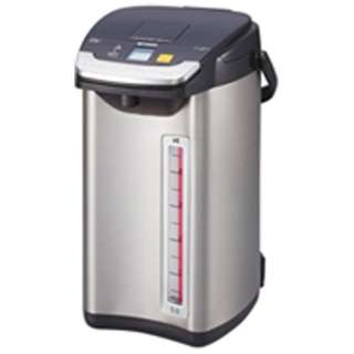 PIE-A500 電気ポット 蒸気レスVE電気まほうびん とく子さん ブラック [蒸気レス機能つき /5.0L]