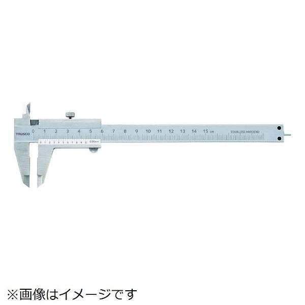 トラスコ TRUSCO 標準型ノギス 100mm THN-10 1本 415-0881
