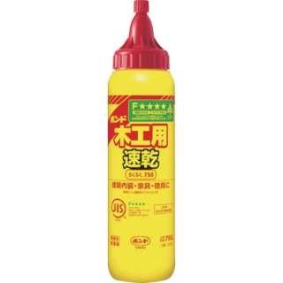 ボンド木工用速乾 らくらく750 750g(ボトル) 40300