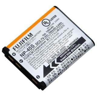 充電式バッテリー NP-45S