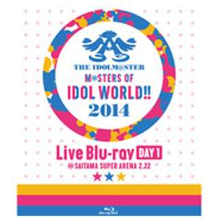 THE IDOLM@STER M@STERS OF IDOL WORLD!!2014 Day1 【ブルーレイ ソフト】