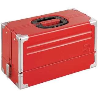 ツールケース(メタル) V形3段式 433X220X240mm BX331