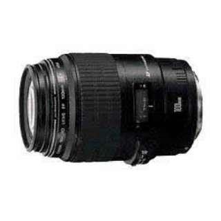 カメラレンズ EF100mm F2.8 マクロUSM ブラック [キヤノンEF /単焦点レンズ]