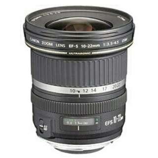 カメラレンズ EF-S10-22mm F3.5-4.5 USM(EF-S10-22U) APS-C用 ブラック [キヤノンEF /ズームレンズ]