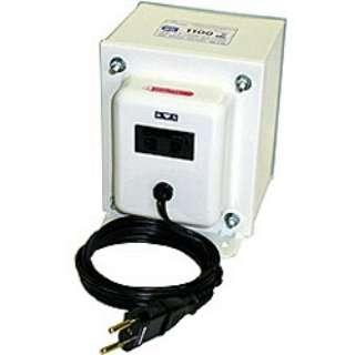 変圧器 (アップダウントランス) 「トランスフォーマ SKシリーズ」(200V⇔100V・容量1100W) SK-1100