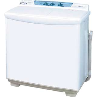 PS-80S-W 2槽式洗濯機 青空 ホワイト [洗濯8.0kg /乾燥機能無 /上開き]