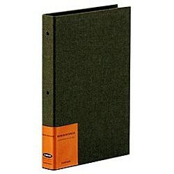 セキセイのハーパーハウスレミニッセンスバインダータイプ・L判・縦・カーキ (XP2102)