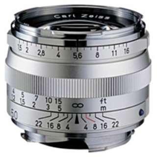 カメラレンズ T* 1.5/50 ZM C Sonnar(ゾナー) シルバー [ライカM /単焦点レンズ]