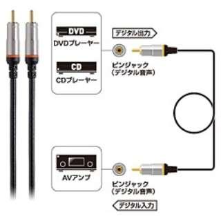1m同軸デジタルケーブル AT594D/1.0
