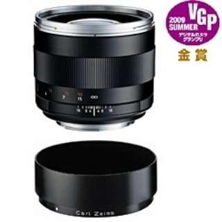 カメラレンズ T*1.4/85 ZE Planar ブラック [キヤノンEF /単焦点レンズ]