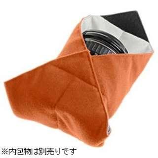 メッセンジャーラップ 10インチ(25×25cm/濃オレンジ) 638-264