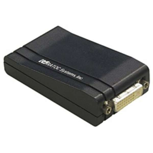 USB2.0マルチディスプレイアダプタ REX-USBDVI2