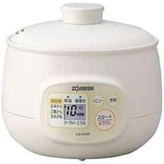 EG-DA02 おかゆメーカー 粥茶屋 ホワイト(WB)