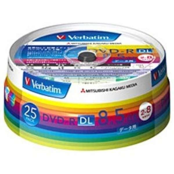 DHR85HP25V1 データ用DVD-R ホワイト [25枚 /8.5GB /インクジェットプリンター対応]