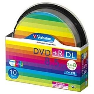DTR85HP10SV1 データ用DVD+R ホワイト [10枚 /8.5GB /インクジェットプリンター対応]