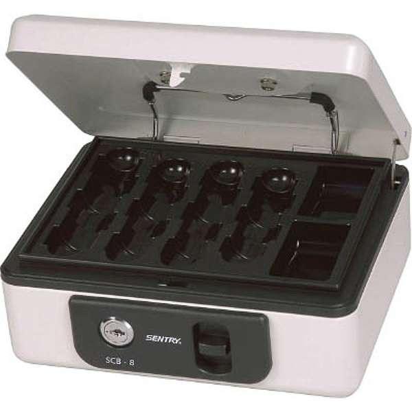 SCB-8 手提金庫 キャッシュボックス [鍵式]