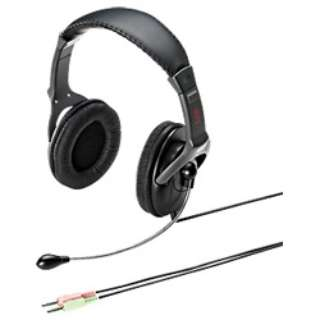 MM-HS514 ヘッドセット [φ3.5mmミニプラグ /両耳 /ヘッドバンドタイプ]