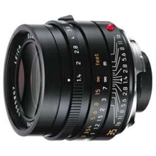 カメラレンズ M F1.4/35mm ASPH. SUMMILUX(ズミルックス) BLACK [ライカM /単焦点レンズ]
