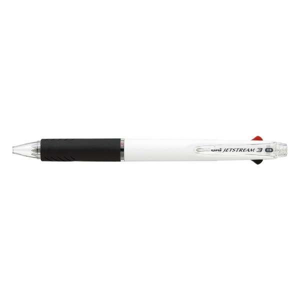 [ボールペン] ジェットストリーム 3色ボールペン (白) SXE340005.1