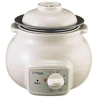 CFD-B280-C 電気おかゆ鍋 0.75合 ベージュ